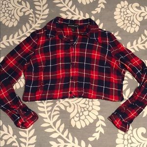 Derek Heart Plaid Button up